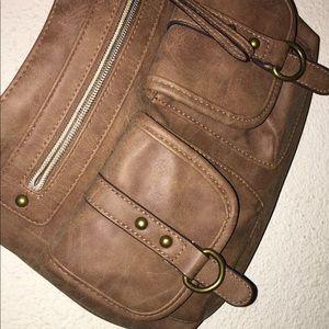 Handbags - Muddy Brown Cheap Shoulder Bag